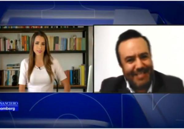Entrevista a Sergio Díaz, director de VESTIGA, en El Financiero Bloomberg
